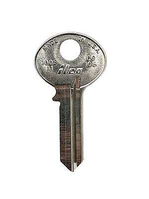 Ilco 1003m Key Blank For Mailboxfilecabinet Hl1 50-pack