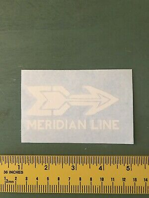 Meridian Line Decal/sticker Outdoors/hiking