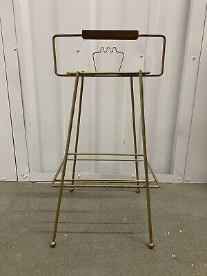 Vintage Mid-Century Modern Atomic Smoking Stand Ashtray Mad Men Era Brass Wire