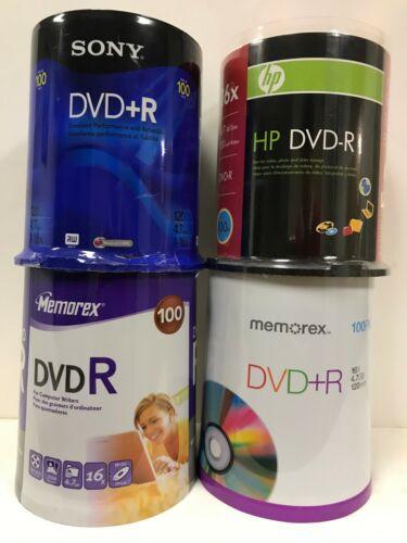 400 PC 16X 4.7GB DVD R Disc