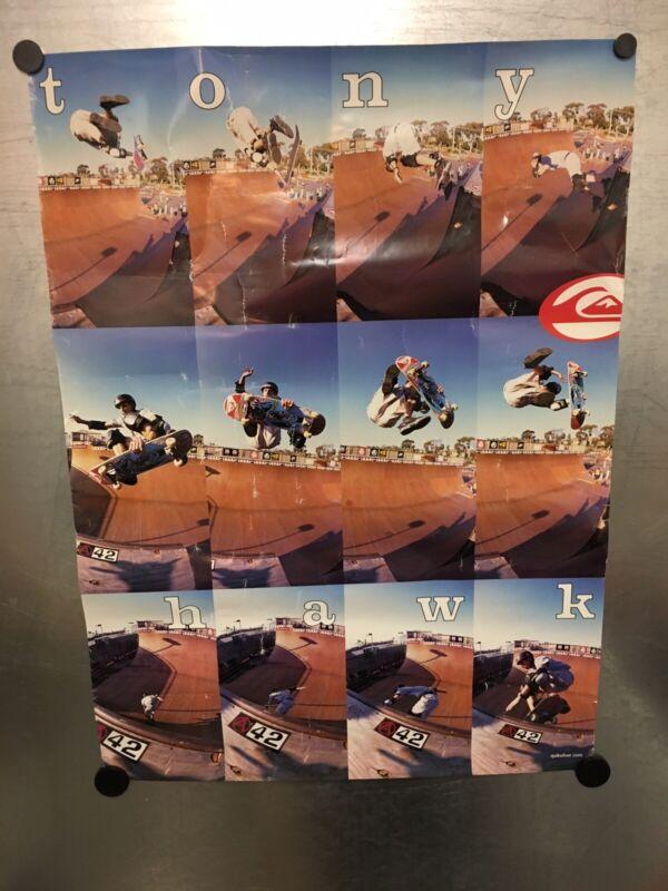 Vintage Tony Hawk Quicksilver Poster: 1990s?