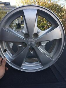 16 Chevy rims qty of 4