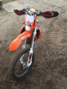 2016 KTM 500 EXC blue plated road legal