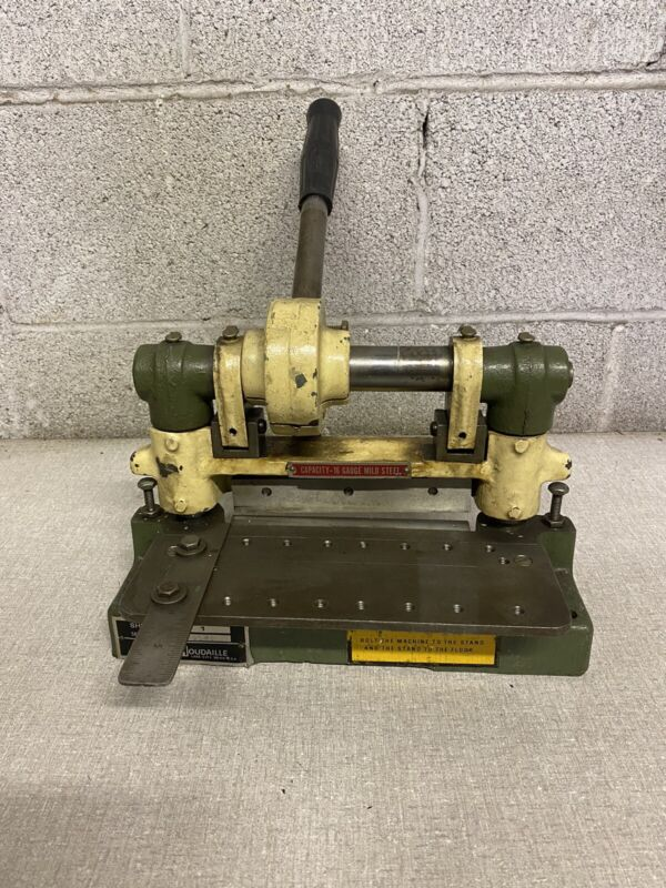 "Di-Acro 6"" Shear NO. 1  Diarco Bench Top Sheet Metal Shear"