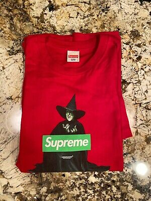 Supreme Red Witch Tee - Size Large - Accepting Offers