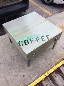 One-of-a-kind coffee table