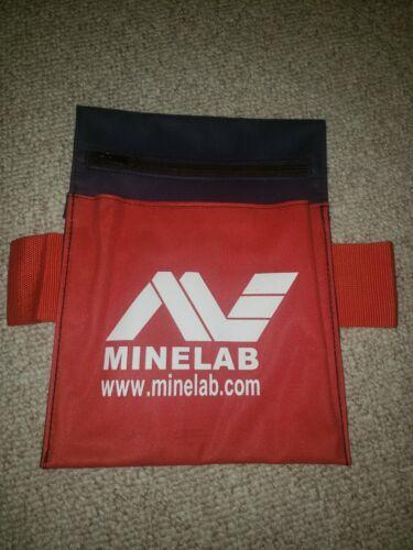Minelab Canvas Metal Detectors Treasure Belt Pouch Bag Hunting Digging Detector