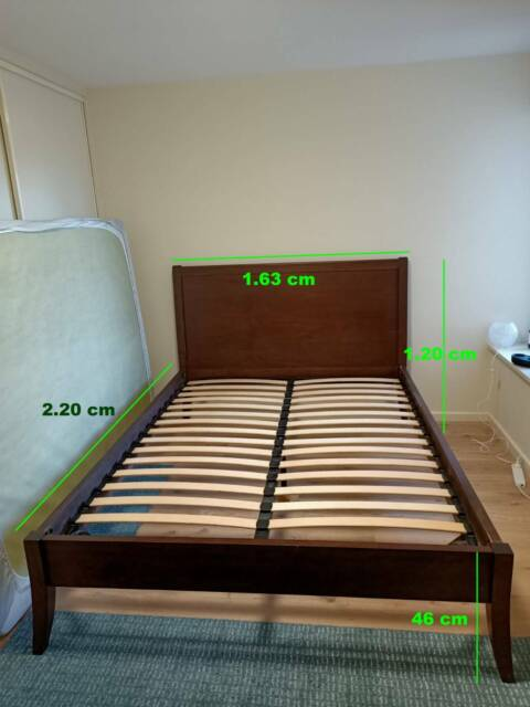 Timber Bed Frame Queen Size Beds, Queen Bed Frame Adelaide Gumtree