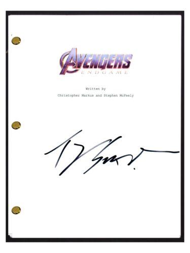 Ty Simpkins Signed Autographed AVENGERS ENDGAME Movie Script Screenplay COA