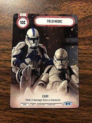 Field Medic Star Wars: Destiny Convergence #78 Full Art Promo