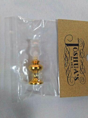 Miniature Dollhouse Brass Lamp Lantern Style