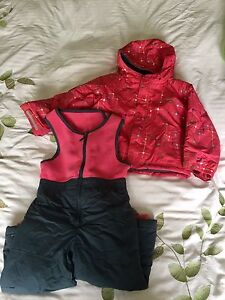 Columbia snow jacket and matching pants 3t