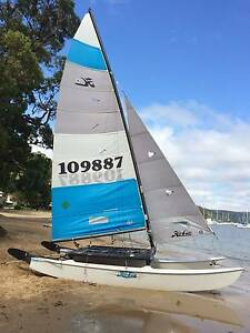 Awesome 2006 Hobie 16 Cat with Trailer Bilgola Pittwater Area Preview