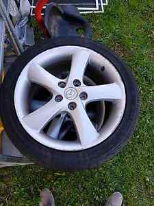 Mazda 6 alloy wheels 17 inch Barrack Heights Shellharbour Area Preview