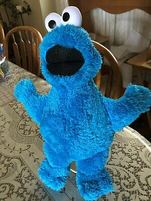 Kohls Cares for Kids Cookie Monster Blue Soft Plush Animal Sesame Street 15""