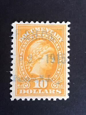 GandG US Stamps BOB Documentary #R221 Liberty $10 Used