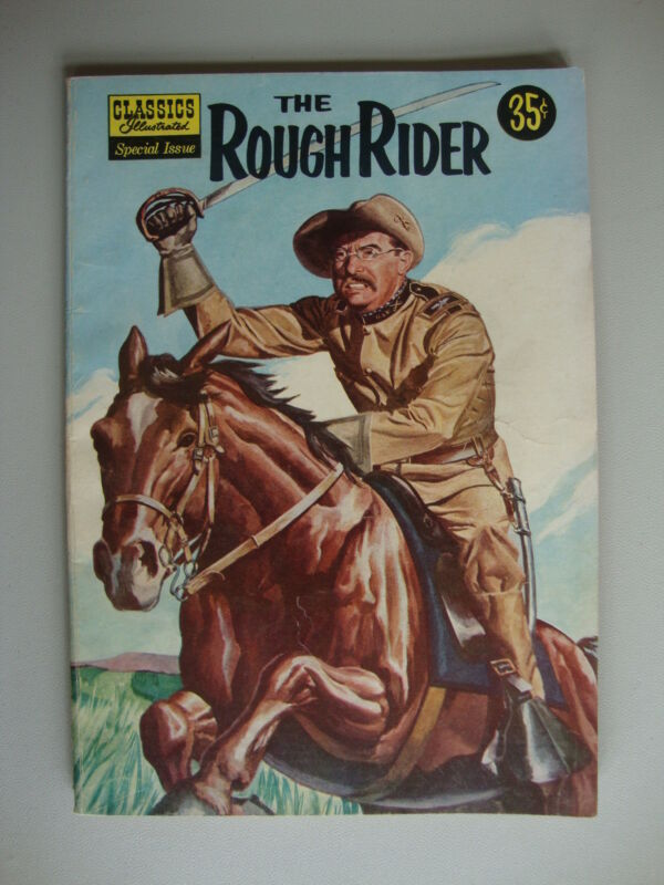 Classics Illustrated Special Issue #141 VG Rought Rider