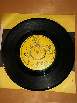 "ABBA  RING RING  1973 UK PROMO/DEMO 7"" VINYL SINGLE RECORD EPC 2452"