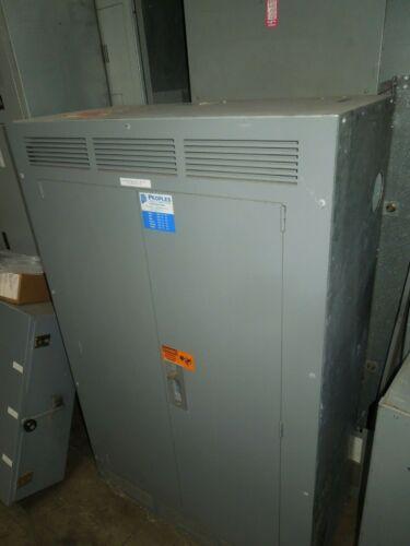 Square D Qmb 600a 3ph 4w 277/480v Mlo W/ Fused Panelboard Switches Nema 1