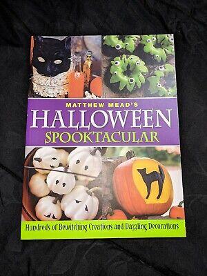 Halloween Spooktacular Matthew Mead Paperback Book