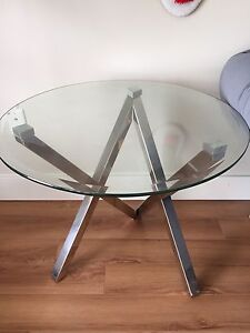 Glass table accent for sale
