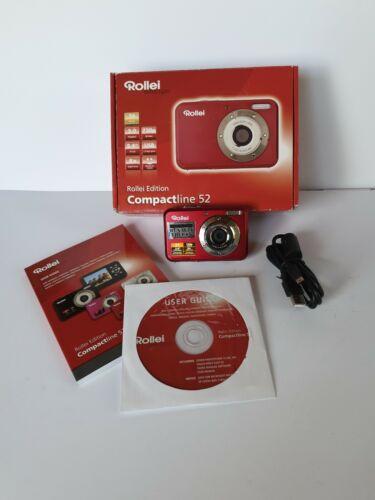 Rollei Edition Compactline 52 Digitalkamera 5 Megapixel ideal für Kinder
