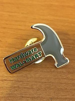 Rare Walmart Lapel Pin Hardware Department Hammer Wal-mart Pinback