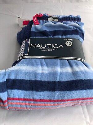 Girls Size 13 Years Nautica 2 pack pyjama bottoms sleep pants From Costco](Costco New Years)