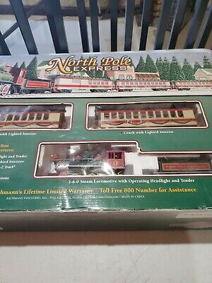 Bachmann HO North Pole Express Train Set TRAIN CARS ONLY