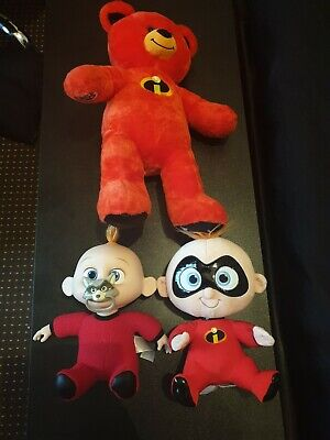 Disney Incredibles Bundle Jack Jack Doll Build A Bear