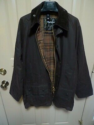 BARBOUR -BEAUFORT WAX COTTON JACKET -RUSTIC COLOR - MADE IN ENGLAND--44