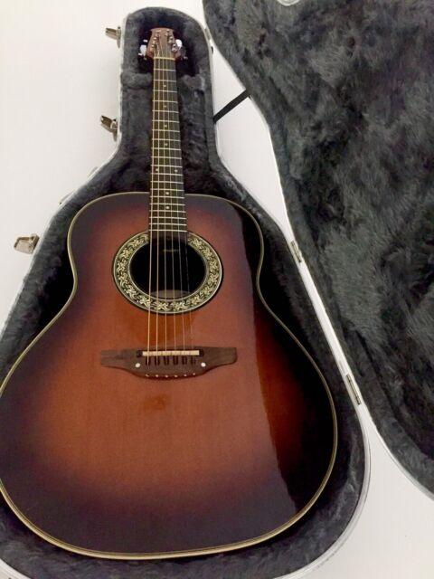 3e2569eee1 USA Ovation Balladeer 1621 (vintage) electric acoustic guitar | Guitars ...