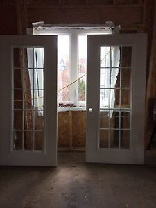 PATIO DOORS (with frames)