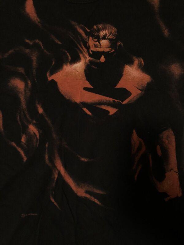 Kingdom Come Vintage Superman Shirt Size XL Alex Ross Rare