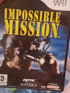 Wii  Mission Impossible Game.