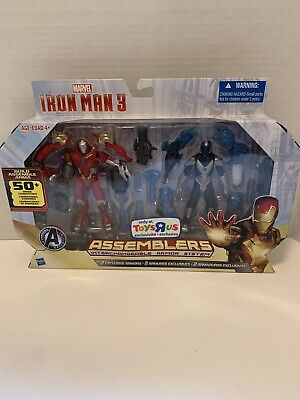 Iron Man 3 Assemblers Toys R Us Exclusive Red Snapper Gravity Cloak