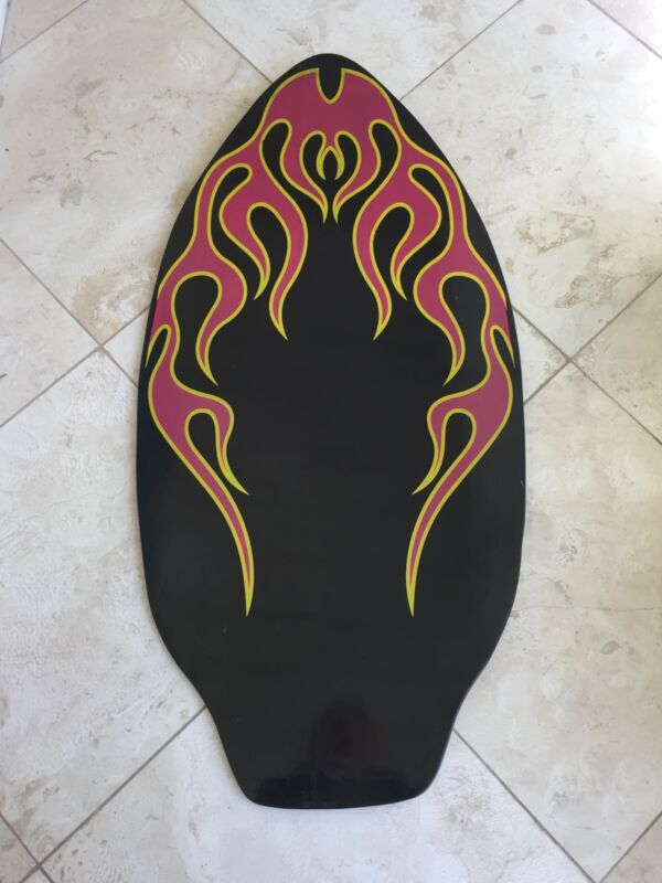 New 41 Inch Wet Power Wooden Skim Board