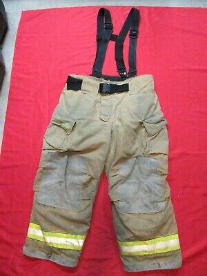 Mfg 2010 Cairns 42 X 28 Reaxtion Firefighter Pants Bunker Turnout Fire Gear