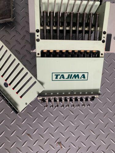 TAJIMA 1996  HEAD/9 NEEDLE- TME-DC  EMBROIDERY MACHINE