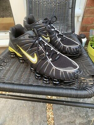 Nike Shox TL Black Trainers UK 10