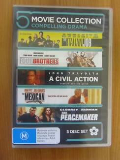5 Disc Set Movies Collection Darwin City Preview