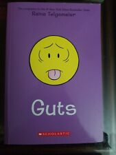 The book guts by raina telgemeier