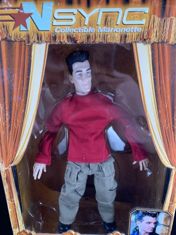 Living Toys N-SYNC  Collectible Marionette JC CHASEZ NEW IN BOX Adult
