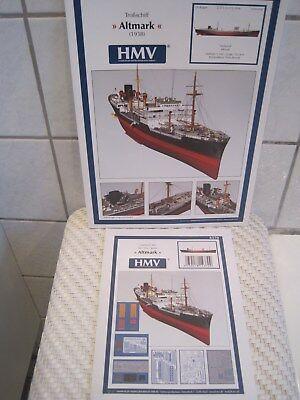 Altmark Troßschiff Schiff incl. Lasercutsatz *NEU* Bastelbogen Kartonmodell