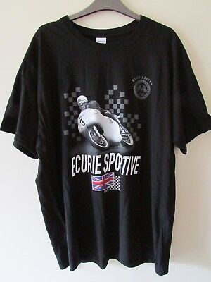 ECURIE SPORTIVE ROAD RACING T-SHIRT, SIZE X.LARGE, NEW/UNWORN.