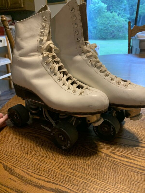 Vintage RIEDELL RED WING SURE GRIP CENTURY PLATES ROLLER SKATES Men's 8 Women's