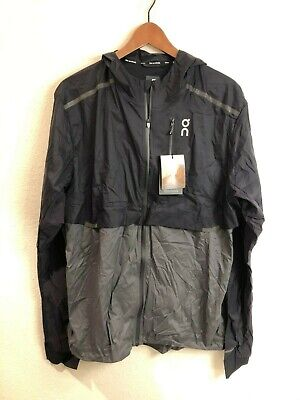 Cloudace Weather Jacket ultralight running jacket black/shadow (size: XL) for sale  Shipping to India