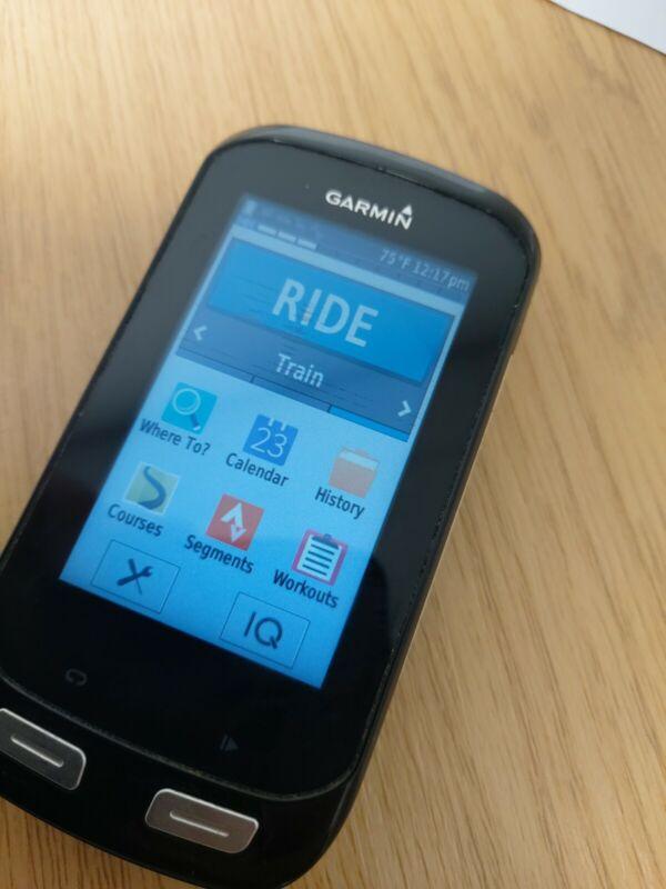 Garmin Edge 1000 GPS bike computer cycling.