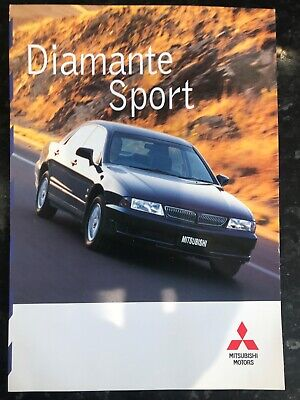 Car Brochure - 1999 Mitsubishi Diamanté Sport - New Zealand for sale  Shipping to Nigeria