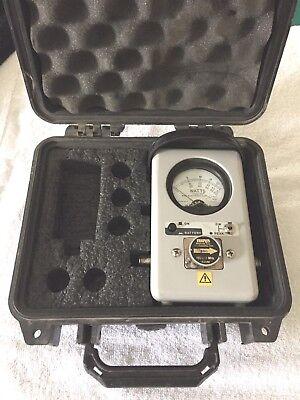 Bird Electronic 4314b Thruline Rf Wattmeter W 50w 100-250mhz Plug Hard Case